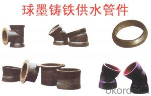 Ductile Iron Pipe Fittings All Socket Tee of China DN600-DN1000 EN598