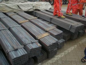 Slit Cutting Flat Bar with Material Grade Q235