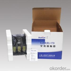 ac contactor CJX8(B)-170 brands electric contactor magnetic contactor circuit breaker contactor