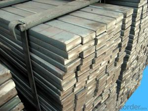 Slit Cutting Flat Bar in Material Grade Q235B Steel Flat Bars
