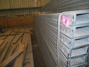 High Quality Hot Rolled U-Channel Steel