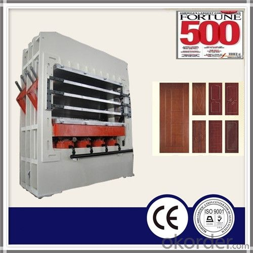 1200T Hydraulic Veneer Door Skin Press Machine
