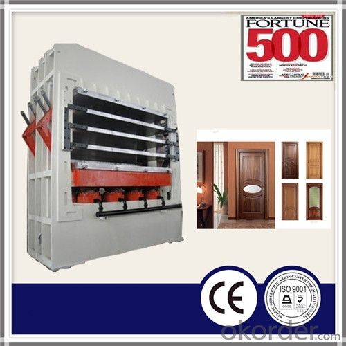 800T 3 Layer Door Skin Hot Press Machine