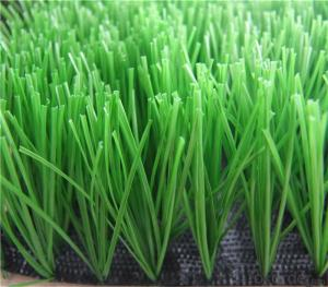 40mm PE Football Artificial Grass , Green Futsal Synthetic Lawn For Soccer Filed