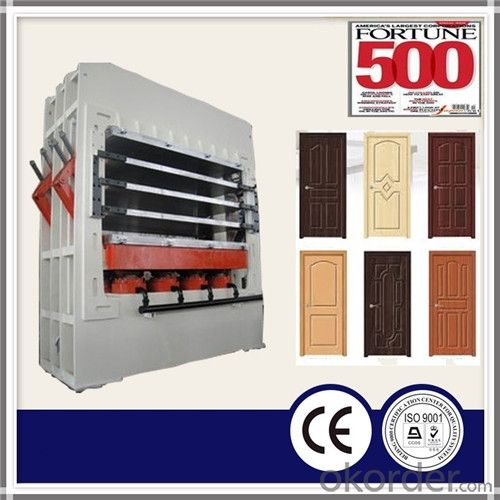 Melamine Paper MDF Door Skin Press Machine