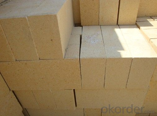 Low Porosity Brick Fireclay Brick for Stoves Standard Size Refractory Bricks