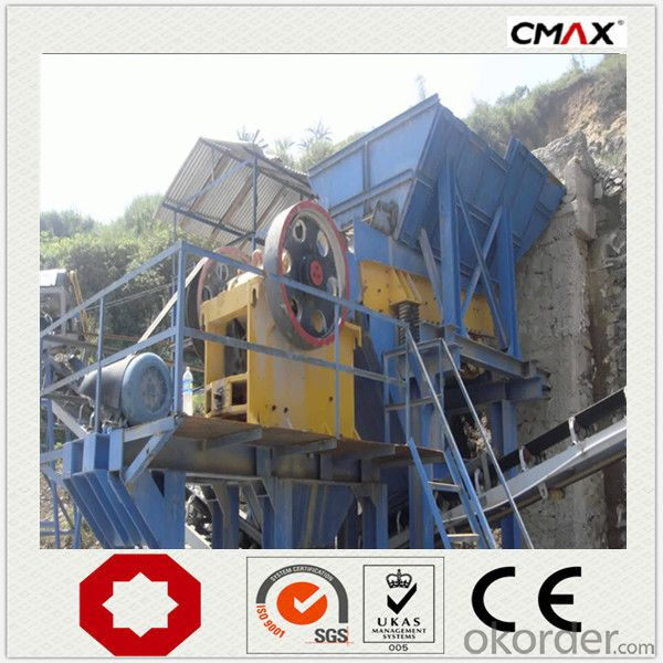 Stone Jaw Crusher PE600*900 Excellent Performance