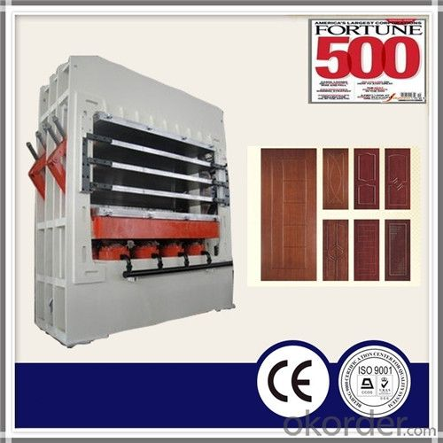 Molded Door Skin Hot Press Machine /Melamine Door Skin Hot Press