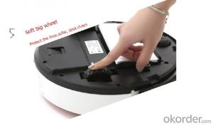 Robot Vacuum Cleaner A103 with Water Tank(Wet and Dry Mopping)