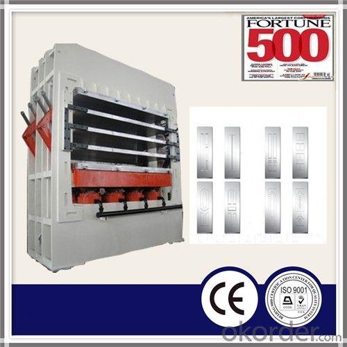 1200T HDF Veneer Door Skin Hot Press Machine
