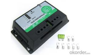 Solar Intellegent PWM Charger With Inverter 350W-500W True Short Circuit Protection,