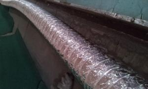 Alum Flexible Ducting Noninsulated Ducting CE Marked