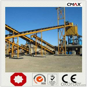 Stone Jaw Crusher Used in Primary with Welded Structure
