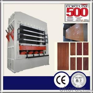 Multi-layer Door Skin Melamine Veneer Hot Press Machine