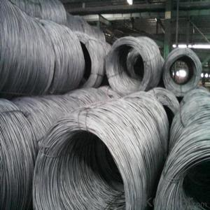 Hot Rolled Wire Rod SAE1008 SAE1006 SAE1018 High Quality