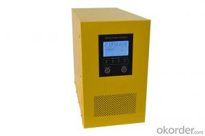 Solar Intellegent Charger With Inverter 1500W~2000W True Short Circuit Protection,