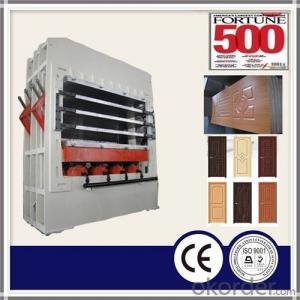 1200T Moulded Door Skin Hot Press Machine