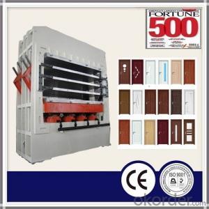 MDF Door Skin Hot Press Machine 1220*2440mm