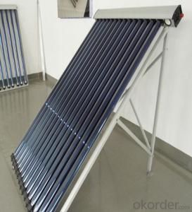 Eccentric Heat Pipe Vacuum Tube Solar Collector Model SC-HE