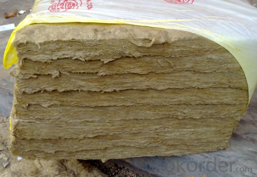Rock Wool Sound Absorbing Thermal Insulation Basalt