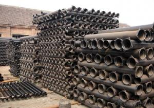 Round Ductile Iron Pipe Supplier EN598 DN400 K9