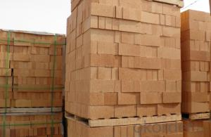 Standard Dimensions Fireclay Bricks for Blast Furnance