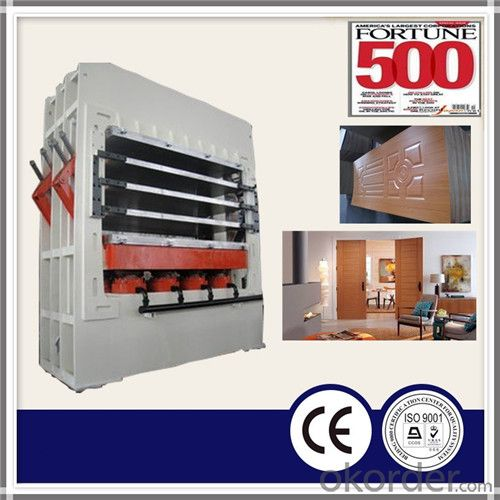 Professional Woodworking Veneer Door Hydraulic Pressing Machine