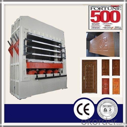 Short Cycle Hot Press Machine Door Skin Hot Press Machine