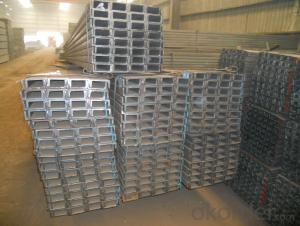 Hot Rolled U-Channel Steel with Many Standard