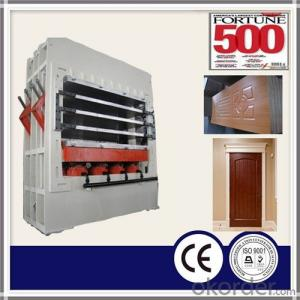 Mould Hot Press Machine for Laminate Door Skin