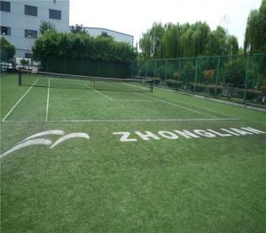 Professional Mini Football / Soccer Field Artificial Grass 50mm 8800Dtex