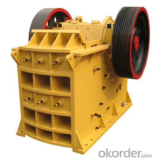 PE 500*750 Jaw Crusher-Primary Crushing Machine