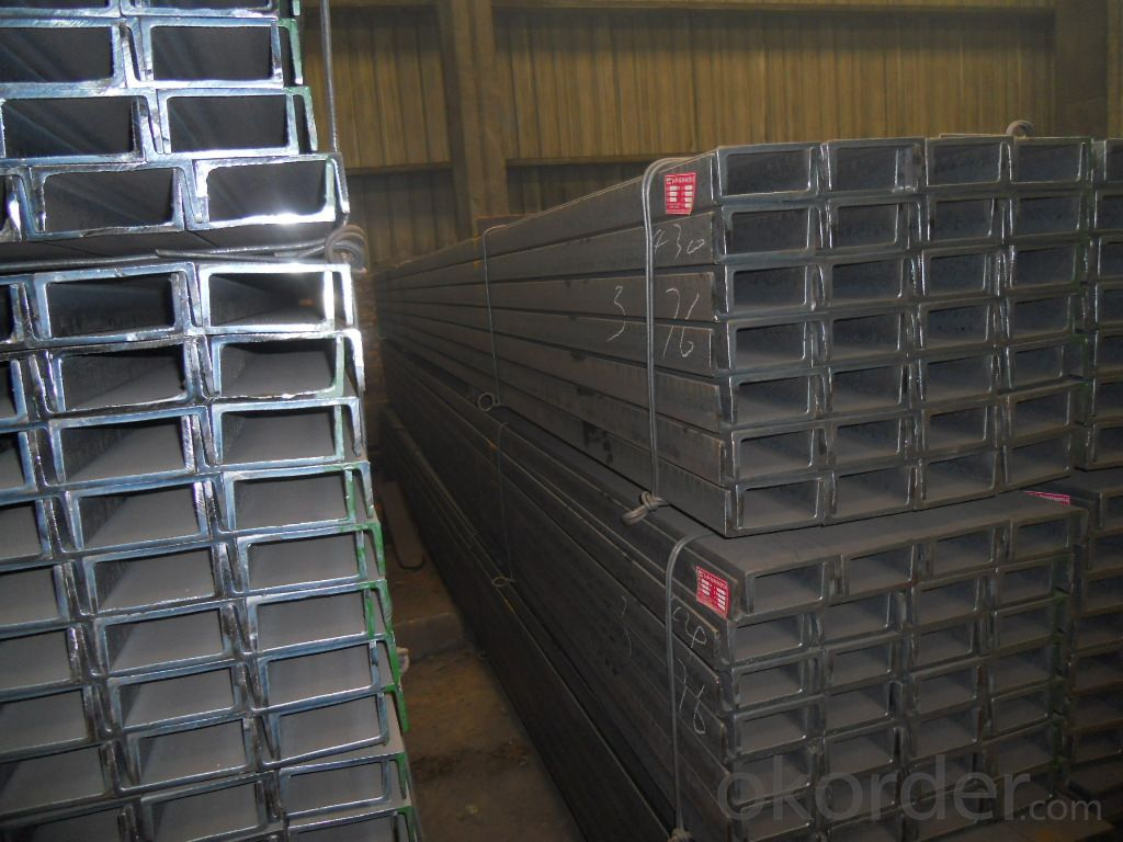Hot Rolled Carbon Steel U-Channel with Many Standard