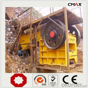 Stone Jaw Crusher PE Series Crushing Stone