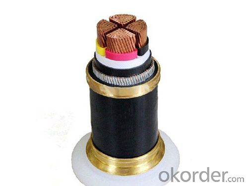Aluminium Conductor XLPE insulated and PVC sheathed power cable