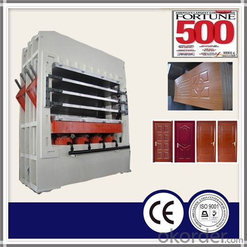 Multilayer Moulding Door Skin Hot Press Machine