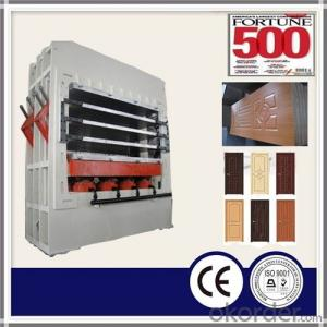 Veneer Moulded Door Skin / Press Machine for Door Skin
