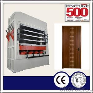 HDF Wooden Door Skin Manufacturing Machine