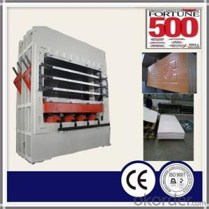 Melamine Lamination Door Skin Hot Press Machine