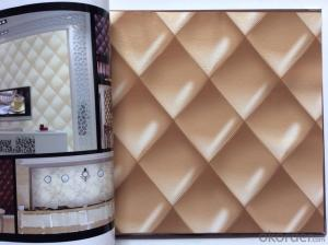 PVC Wallpaper Vinyl Covered Border Designs from China Wallpaper Manufacturer
