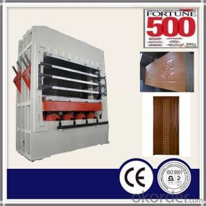 Hydraulic Press for Melamine Door Skin / Multi Layers Doors Skin Press / Moulded Door Skins Press