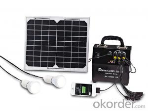 5W Solar Lighting System Plug & Play Integrated Power Box