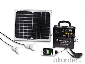 Solar Lighting System - DC >10W Solar Lighting System