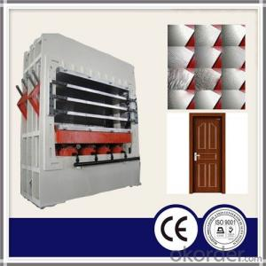 Single layer/ multilayer door skin veneering machine