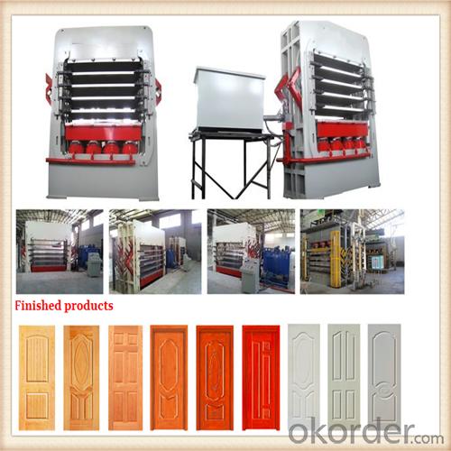 Door Skin Compressing/Multilayer Moulding and Veneer Door Skin /Press Machine for Laminate Door Skin