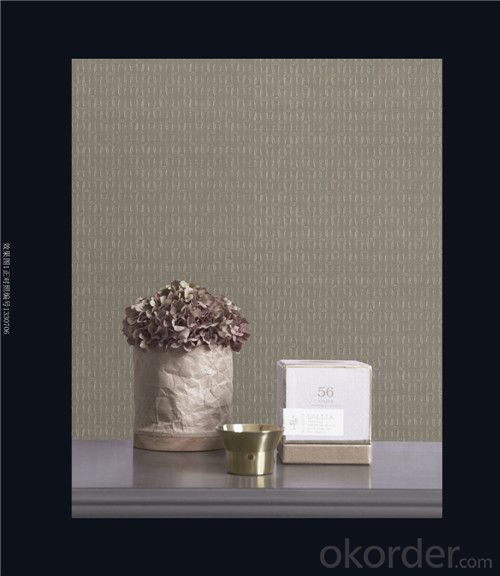 Fabric Backed Wallcovering Flame Repellent Wholesale PVC Wallcovering
