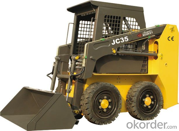 Loader, Rated Load 700kg, Engine Power 50HP(JC45G)