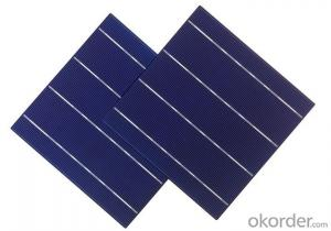 156*156mm 3BB Mono-crystalline Silicon Solar Cell