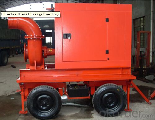 End Suction Diesel Engine Driven Fire Fighting  Pump