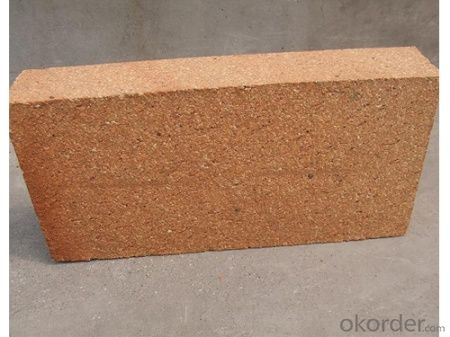 Manufacture Top Quality Excellent Cold Crushing Strength Fireclay Brick for Furnace Top